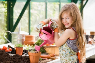 Children & Family Greenhouse Gardening Fun