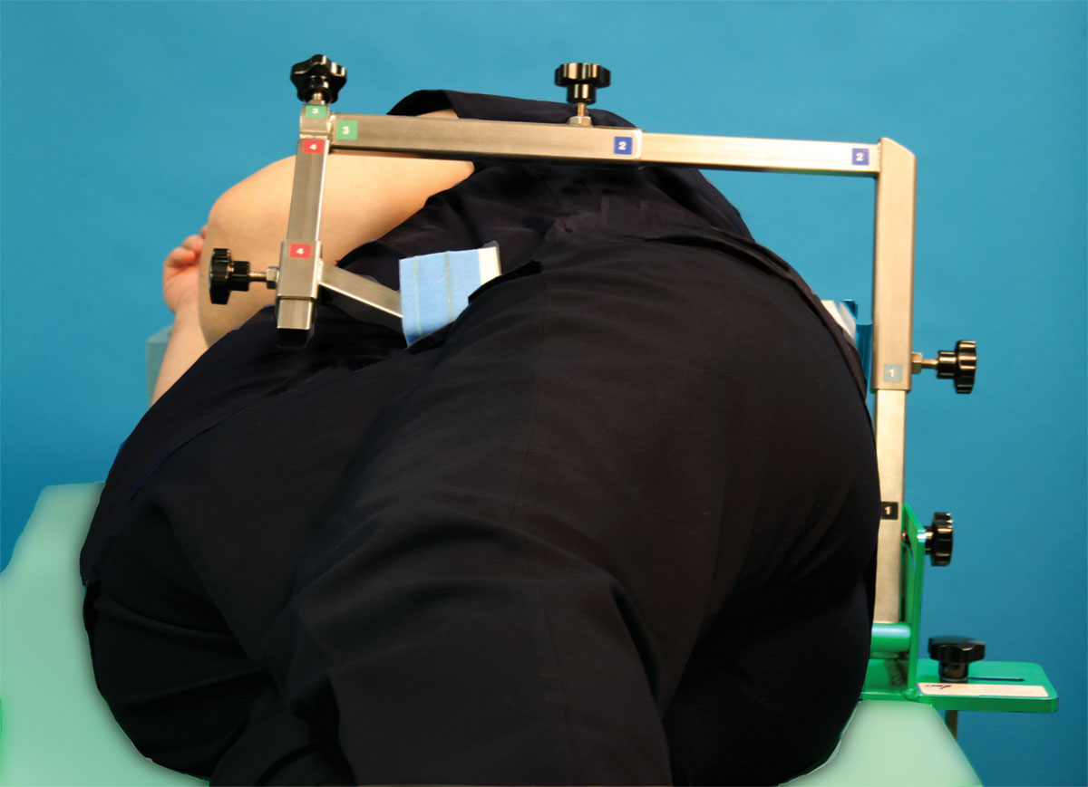 De Mayo Hip Positioner® System for obese patients