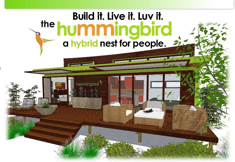 The new leap adaptive hummingbird is a sensational for Small sustainable house plans