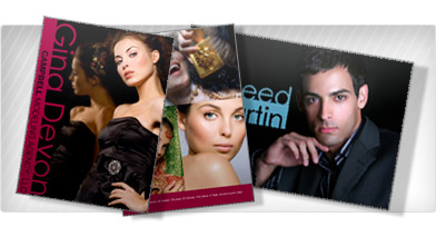 ZED card printing for Models and Actors in LA