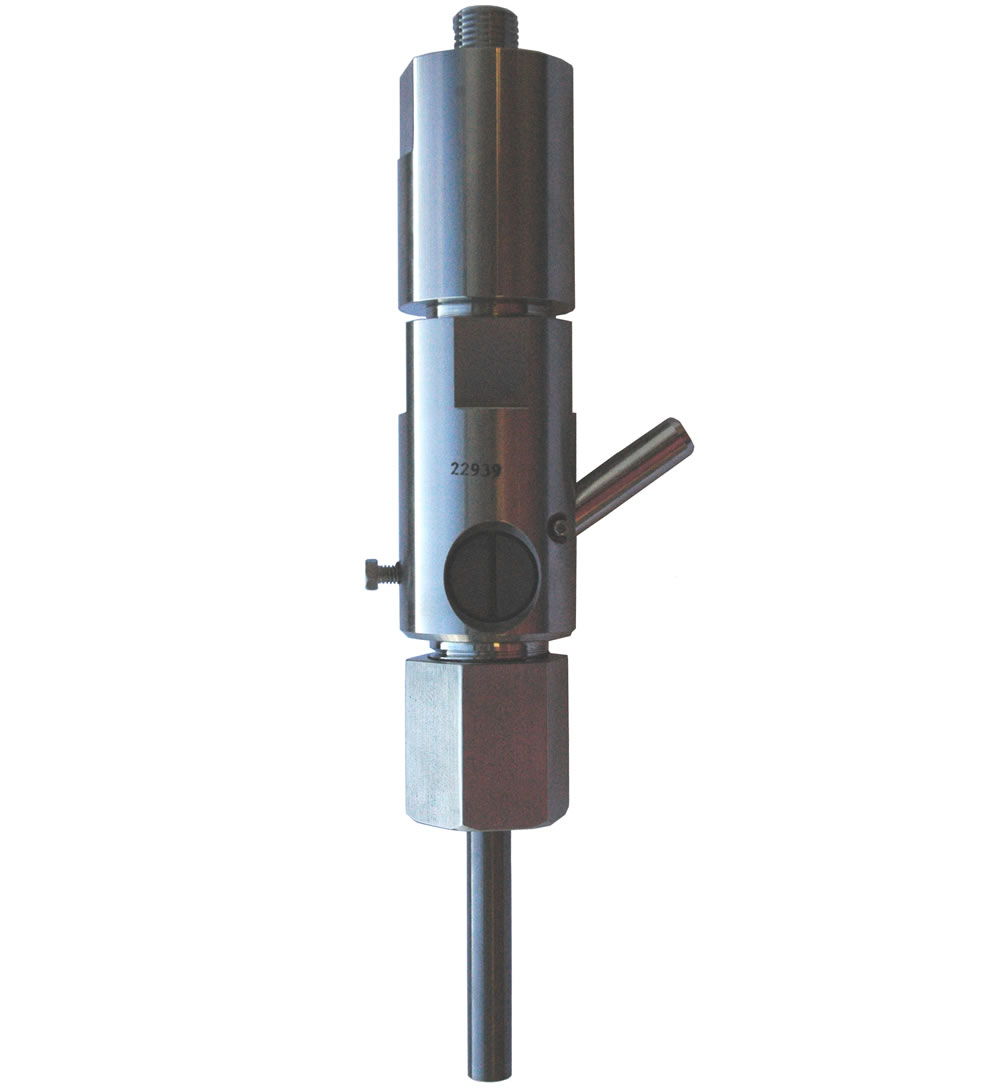 High flow abrasivejet cutting head ideal for portable