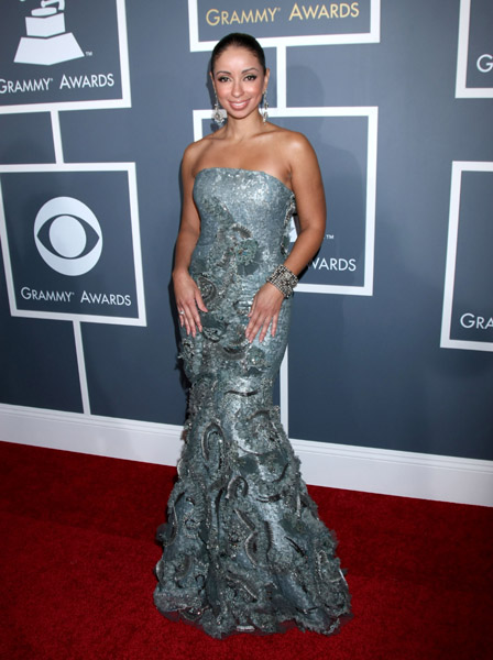 Mya in Jean Fares Couture!