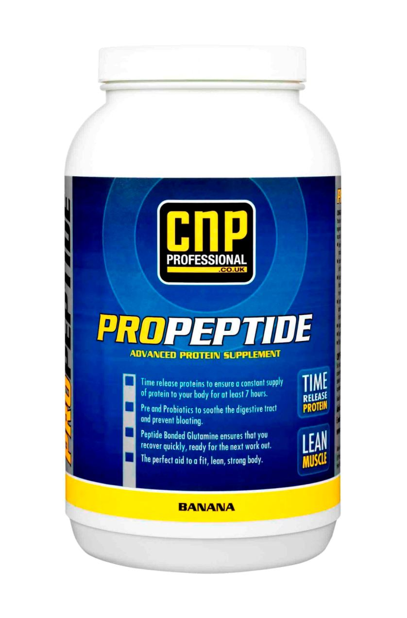CNP's new banana flavour Pro Peptide