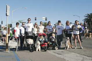Schubach Aviation Helen Woodward Puppy Run Fundraising Team