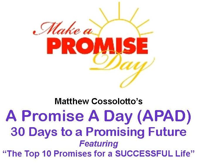 """""""A Promise A Day"""" E-Pub: www.ThePodiumPro.com"""