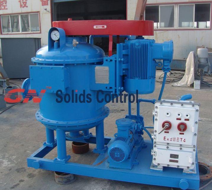 Swaco type horizontal vacuum degasser -- GN solids control ...
