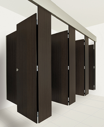 New Suspended Toilet And Shower Partitioning System From Waterloo - Bathroom partitions bay area