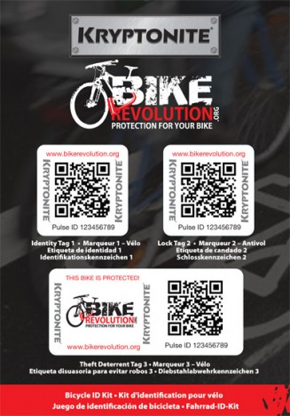 Bike Revolution Retail Bike ID Kit