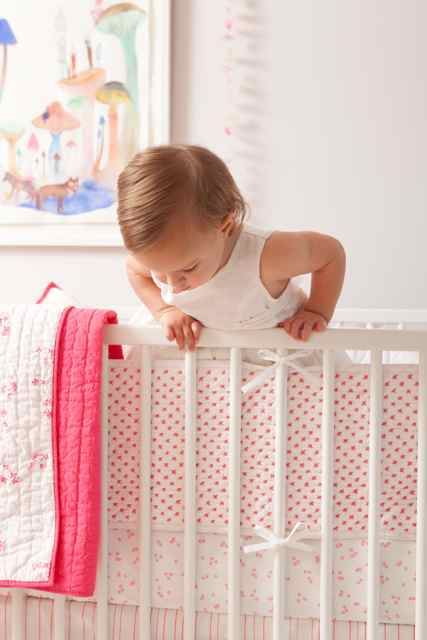 Auggie Brings Modern Chic Design To Bedding For Babies