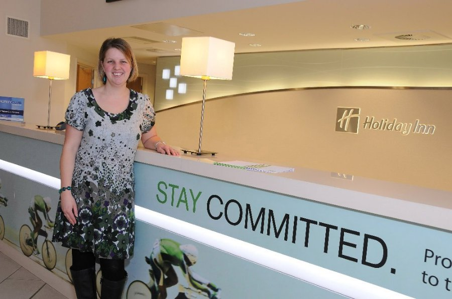Sarah Waddington, Holiday Inn, Winchester