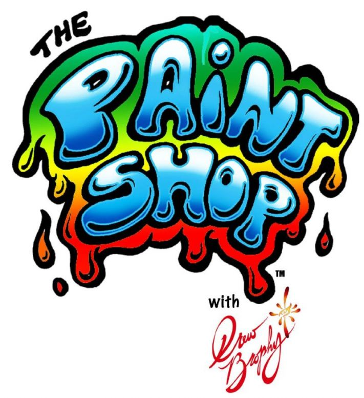 The Paint Shop with Drew Brophy LOGO2