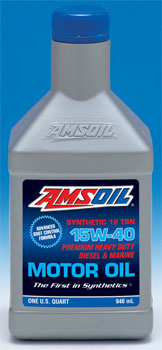 Amsoil 15w40 ame Go 3X recommended drain