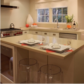 Inspiration House with new concrete countertops