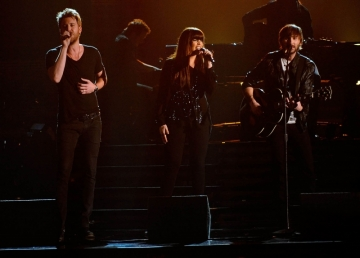 Lady Antebellum performs at the Grammy Awards