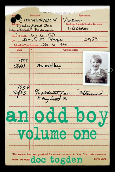an odd boy - volume one - front cover
