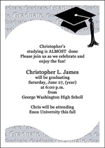 Law School Graduation Party Invitations for perfect invitations template