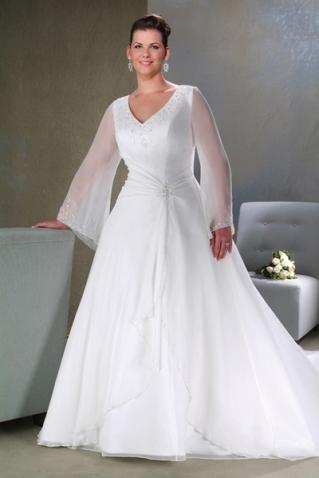 Метки. свадебные платья. платья с рукавами. платья для полных.