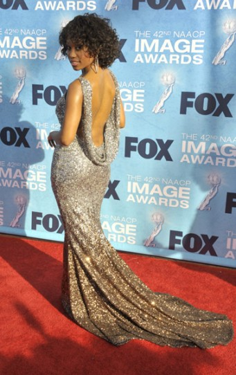 Angell Conwell wears Jean Fares Couture!