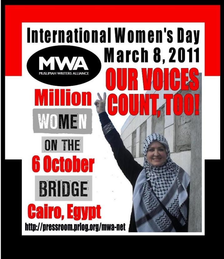 Women4Democracy March to 6 October Bridge