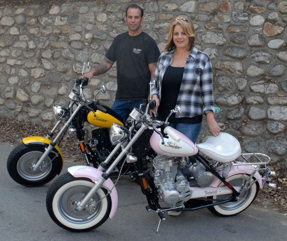 The 90+ mpg Babydoll and Classic by CSC Motorcycles