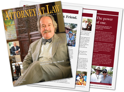 Attorney At Law Magazine March 2011 Cover