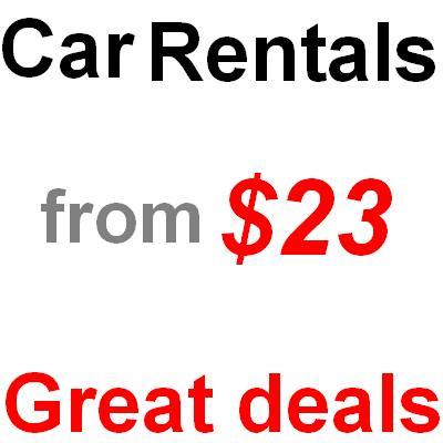 Deals budget car rental