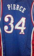 Paul Pierce Signed Kansas Jersey