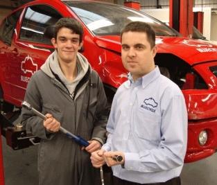 Shane Wilson (left) and Stuart Atkinson, Bluecycle