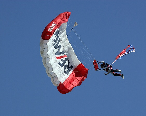 REMAX Skydiving Team next Saturday March 19th at 7 30pm at Pizza Hut Park Dallas Texas