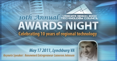 VA's Region 2000 Technology Council Awards Night