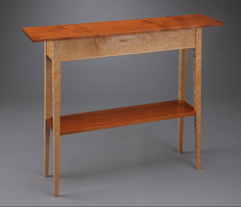 Hall Table Shelf