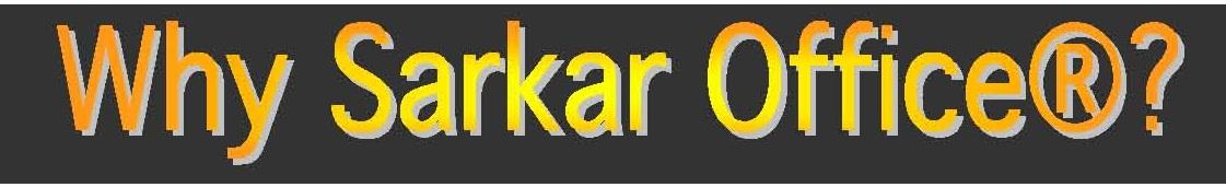 Why Sarkar Office Japan KK?