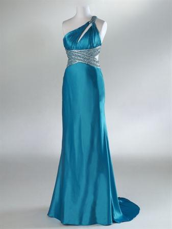 Party Dress on Hot Cerise Full Length Sheath Teal Prom Dresses   Prlog