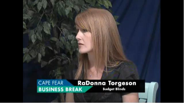 RaDonna Torgeson of Budget Blinds of Wilmington