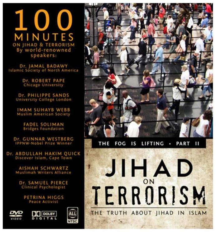 Jihad on Terrorism - including MWA Director, Aishah Schwartz
