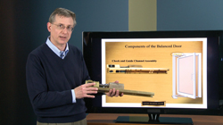 President Mark Graves Presents Balanced Doors