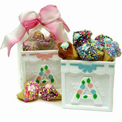 New Baby Fortune Cookie Building Block Box