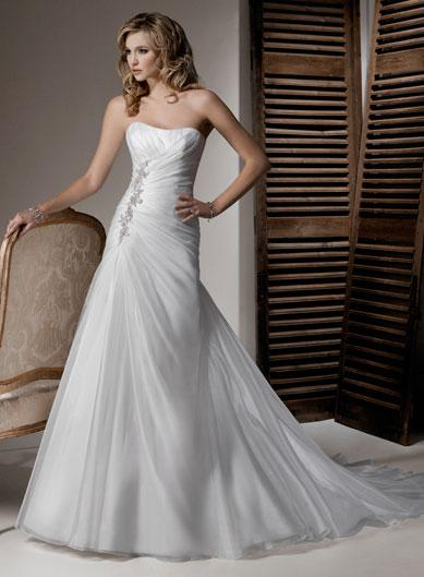 Corset Style Wedding Gowns: Brides collection wedding dress ...