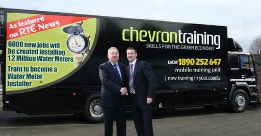 Karl Fitzpatrick, Chevron & Minister Pat Rabbitte