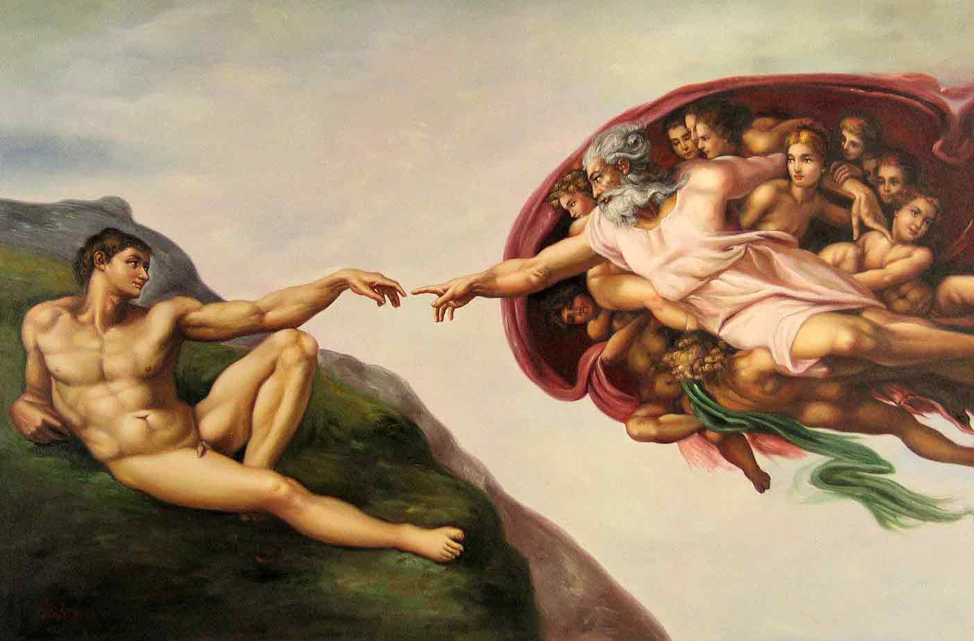 The Creation of Adam | PRLog