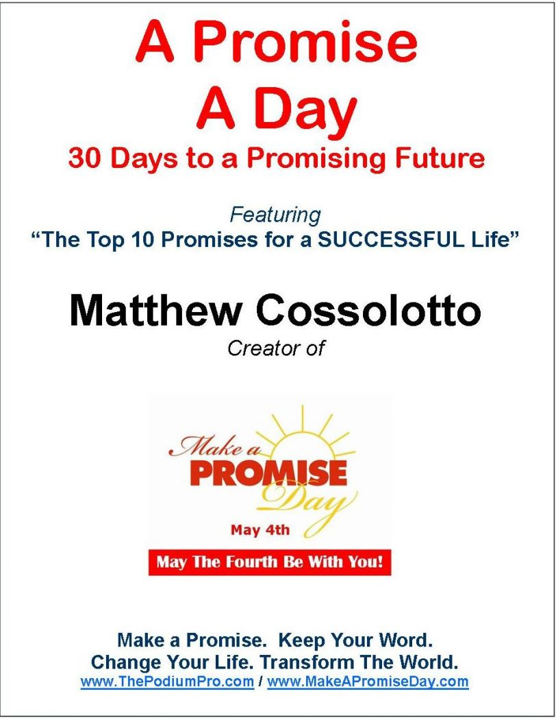 Cover Page-A Promise A Day Program - 30 Promises