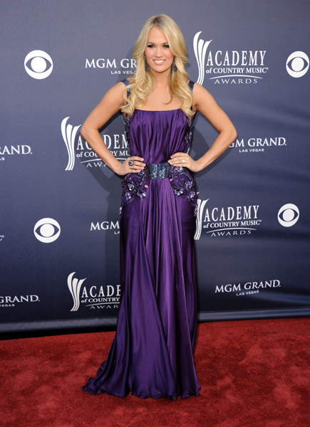 Carrie Underwood in Jean Fares Couture!