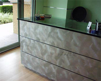 Decorative Stainless Steel Finish by Novel
