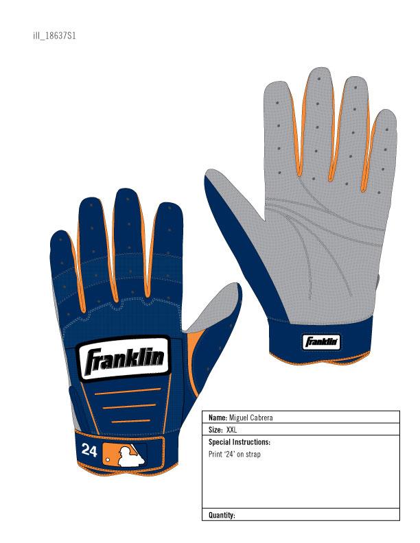 Franklin CFX Batting Gloves