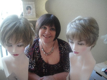 Shirley with Dimples wigs