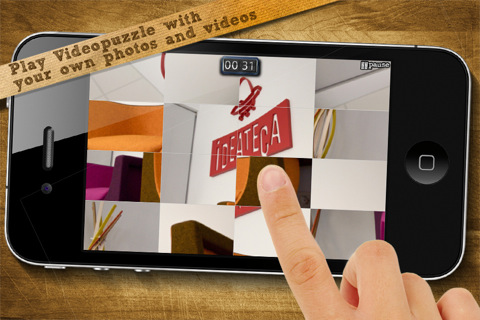 VideoPuzzle App screenshot
