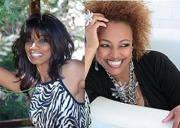Radio Host Candace Chambers-Belida and Actress Kim Fields of Facts of Life