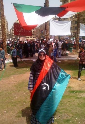 Aishah Schwartz, Tahrir Square, Cairo, Egypt.