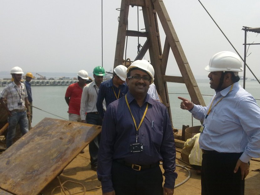 On-site Audit at Kargwal Construction for ISO 9001, ISO 14001, Ohsas 18001 certification