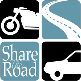 NHTSA's Share the Road Logo